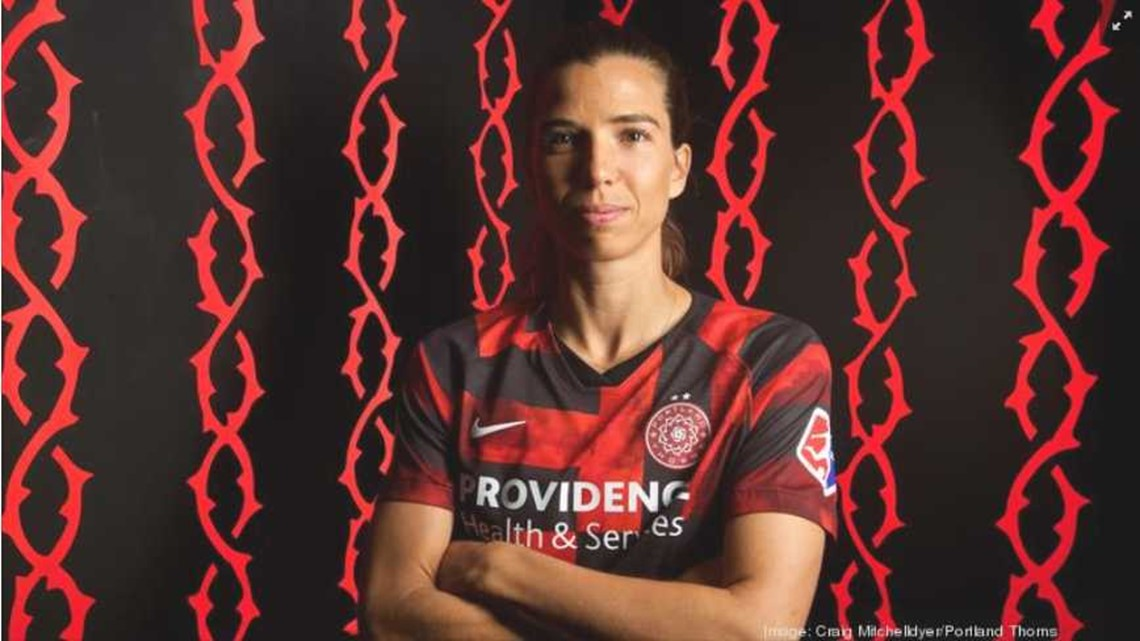 USWNT and Thorns player Tobin Heath on equal pay, what she loves about Portland