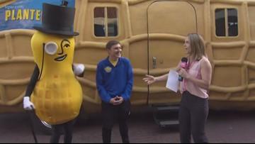 Meet Mr. Peanut & see the NUTmobile