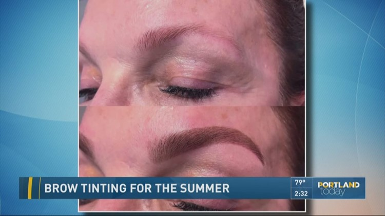 Brow Tinting For The Summer Kgw