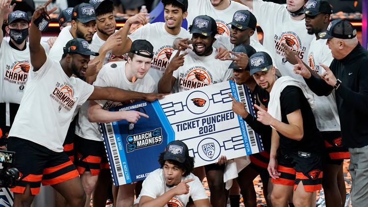 OSU Beavers beat Colorado to win Pac-12 tournament
