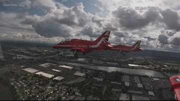 Meet the squadron leader of the Red Arrows