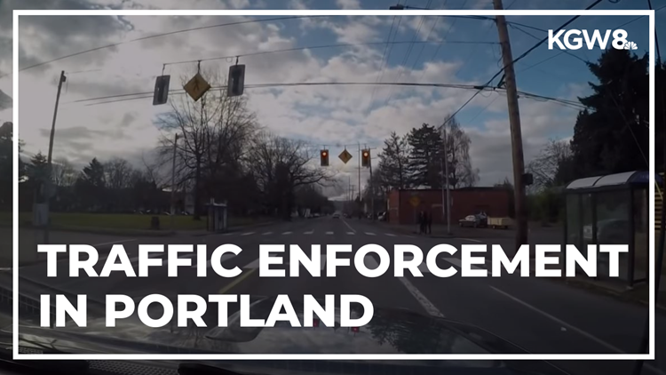Portland is down to one full-time traffic officer as speeding tickets plummet
