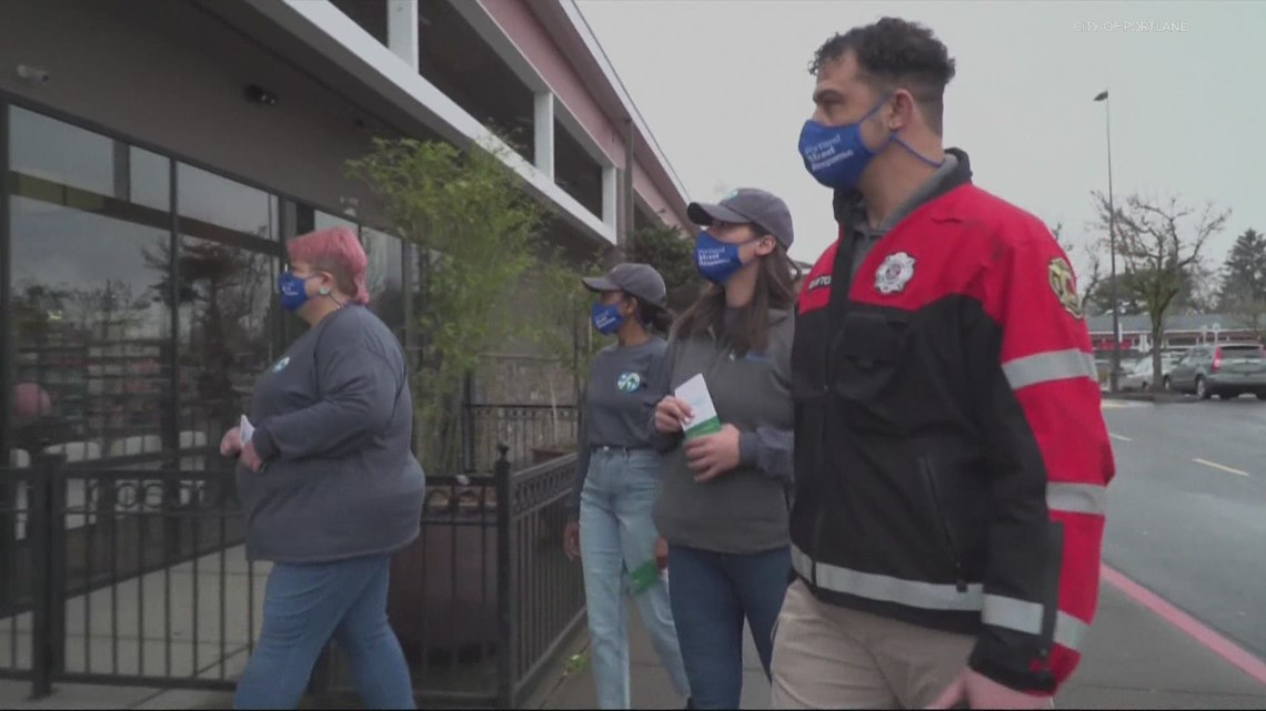 How does Portland's Street Response Team compare with a similar program in Denver?