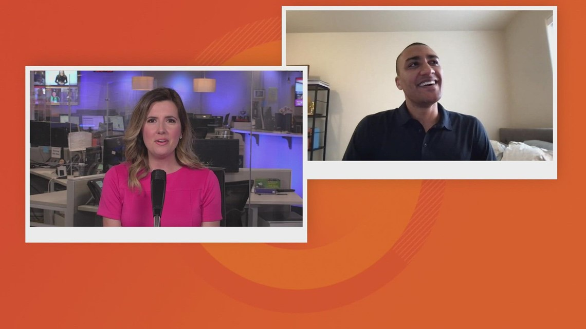 Watch raw interview with Olympian Ashton Eaton