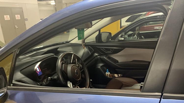Dozens of cars vandalized in secure garages in SE Portland
