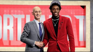 'Portland got an absolute steal': Blazers draft North Carolina SF Nassir Little