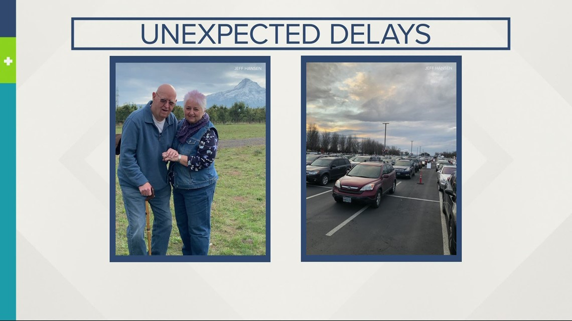 Unexpected delays at PDX mass vax site left people waiting for hours