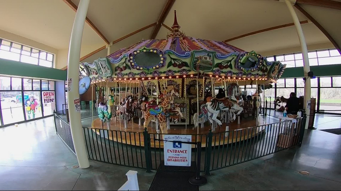 Salem Riverfront Carousel reopens