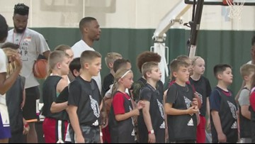 Damian Lillard hosts annual basketball camp in Beaverton