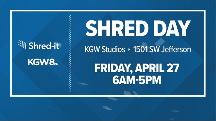 Shred Day is back at KGW on April 27, 2018!