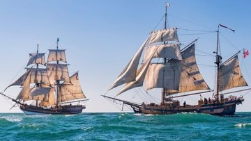 They're back: Tall ships returning to Coos Bay, Astoria in October