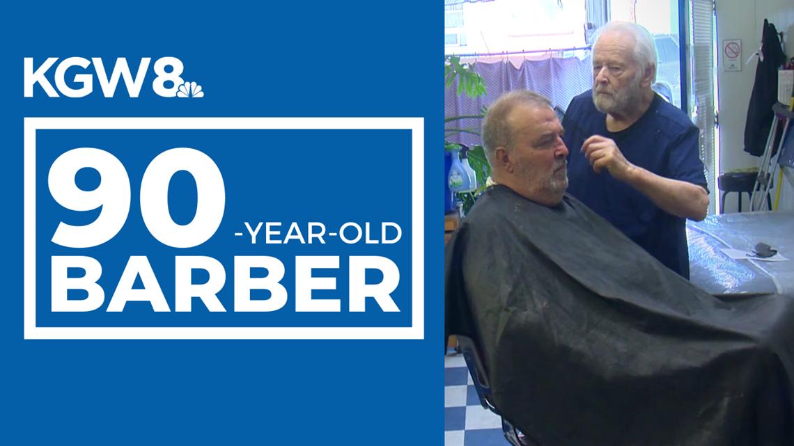 90-year-old barber still cutting hair in Southwest Portland