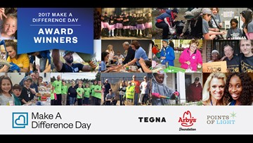 Two Washington groups win Make a Difference Day national awards