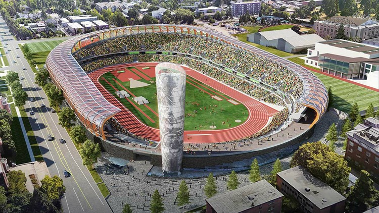 OR unveils new design for historic Hayward Field
