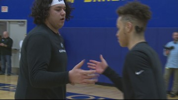 Highlights: Barlow blows out rival No. 5 Gresham 76-49