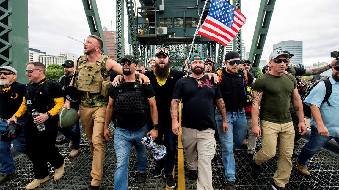 Gov. Brown to unveil police plan for Proud Boys' Portland rally