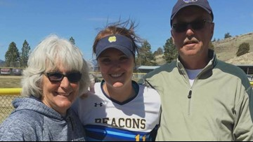 Softball player returns to the field after beating cancer