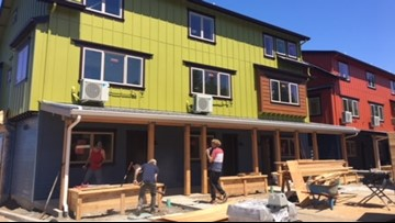 New communal townhomes offer some affordable housing in Portland