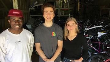Portland teens fight poverty in Nicaragua by collecting bikes