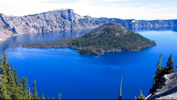 Man drowns at Crater Lake after jumping off 25-foot cliff