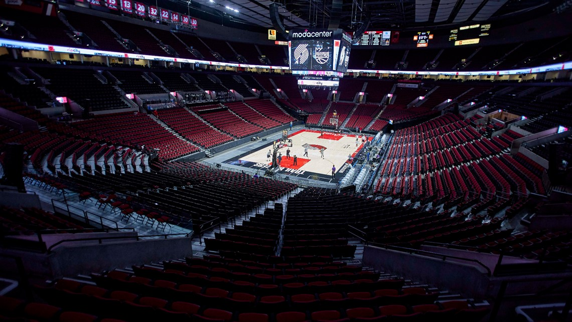 Trail Blazers President, CEO on Portland's game 3 against Denver Nuggets at Moda Center