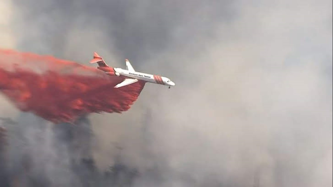 Silver Creek Fire 35 Percent Contained Kgw Com