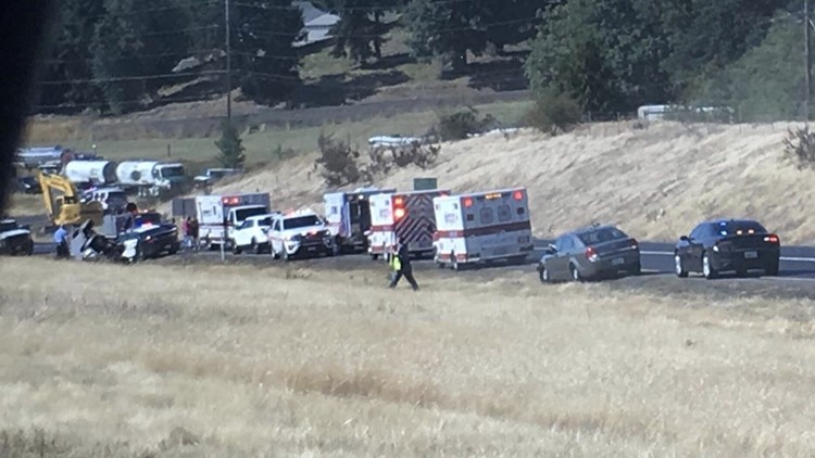 State Police: 2 adults, 1 child killed in rollover crash near Kalama
