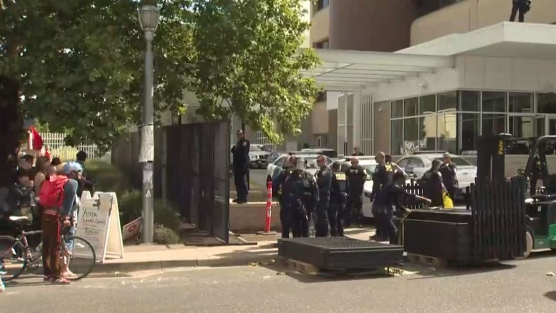 911 records show Portland police responded to ICE requests during protest