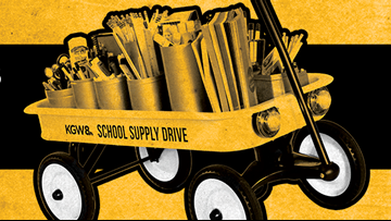 KGW starts the 2018 School Supply Drive