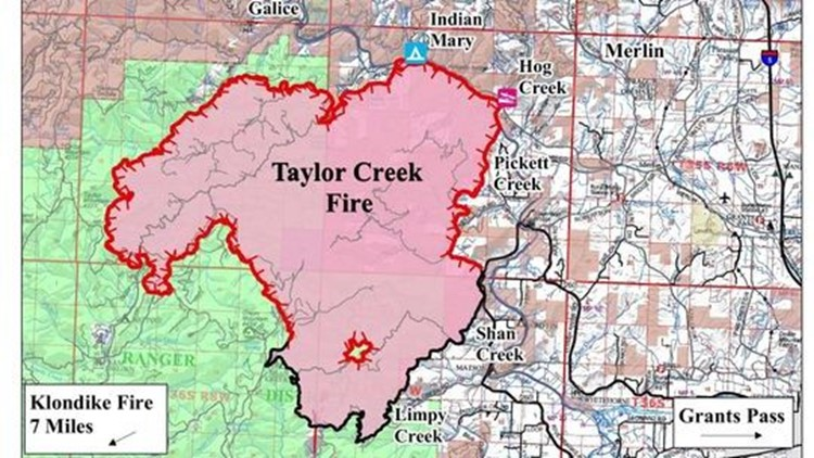 Southern Oregon wildfires: Taylor Creek Fire grows to 31,600 acres