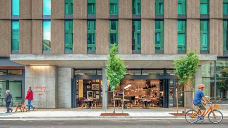 """The Canopy by Hilton, a """"lifestyle hotel brand"""" from Hilton, opened its doors at the end of July."""