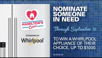 CONTEST ENDED: Nominate someone to win an appliance from KGW and Hamilton's Appliance