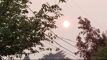 New air quality app maps Oregon wildfire smoke dangers