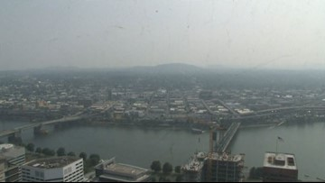 Portland's air quality ranks second-worst in major cities worldwide