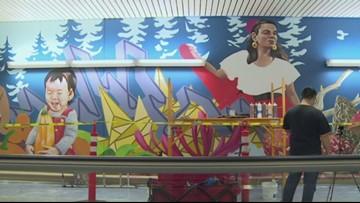Local artists transform PDX tunnel into Portland culture, history lesson