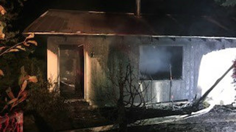 Firefighters believe the fire may have been caused by an electrical malfunction.
