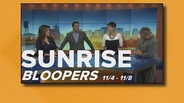 Sunrise Bloopers: Nov. 4 - Nov. 8