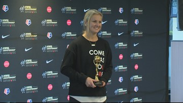 Thorns midfielder Lindsey Horan named NWSL MVP