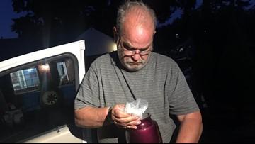 Chance encounter reunites Gresham man with stolen urn