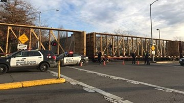 Woman struck, killed by train in Salem