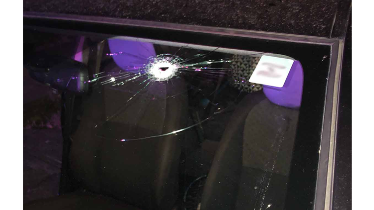 Driver narrowly missed by bullet in Portland shooting; 26 casings recovered from scene