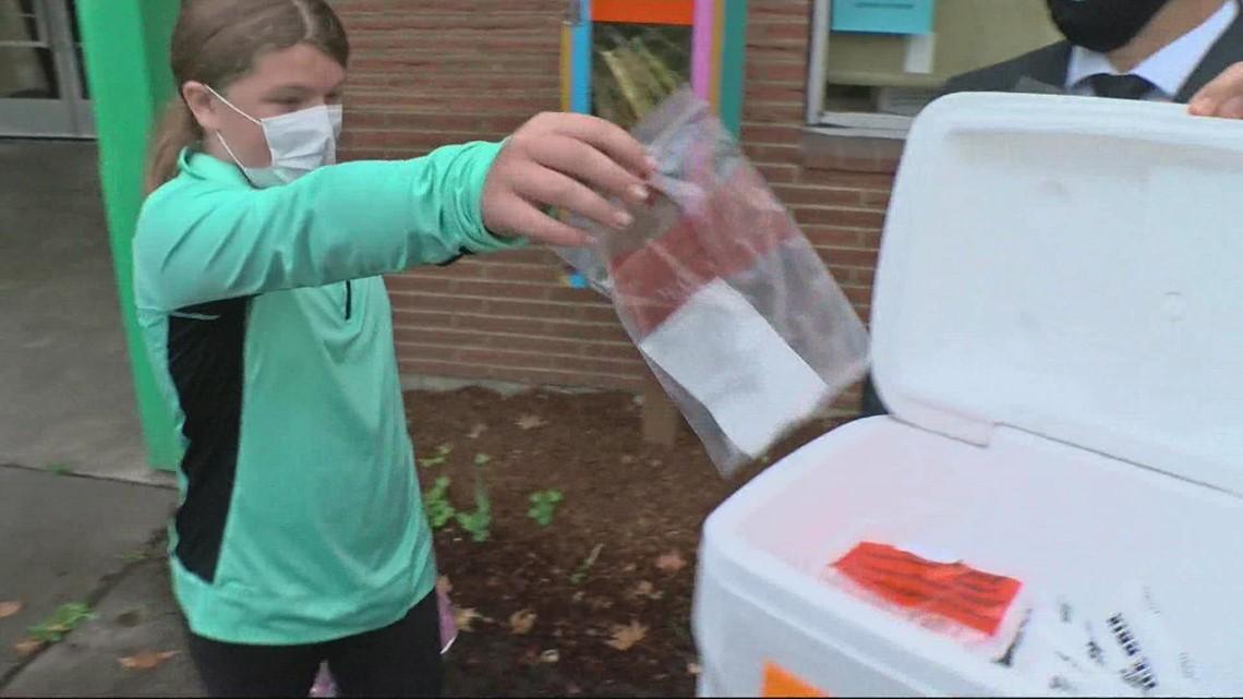 Portland Public Schools begins weekly COVID-19 testing