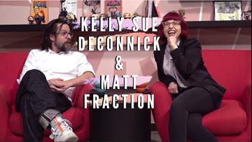 Kelly Sue DeConnick and Matt Fraction talk comics, feminism, being a good human