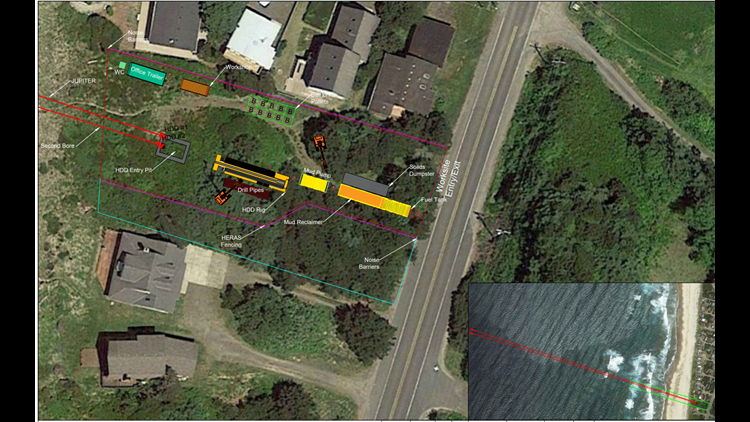 Satellite image filed by Edge Cable Holdings, USA LLC in the application for a conditional use permit with Tillamook County