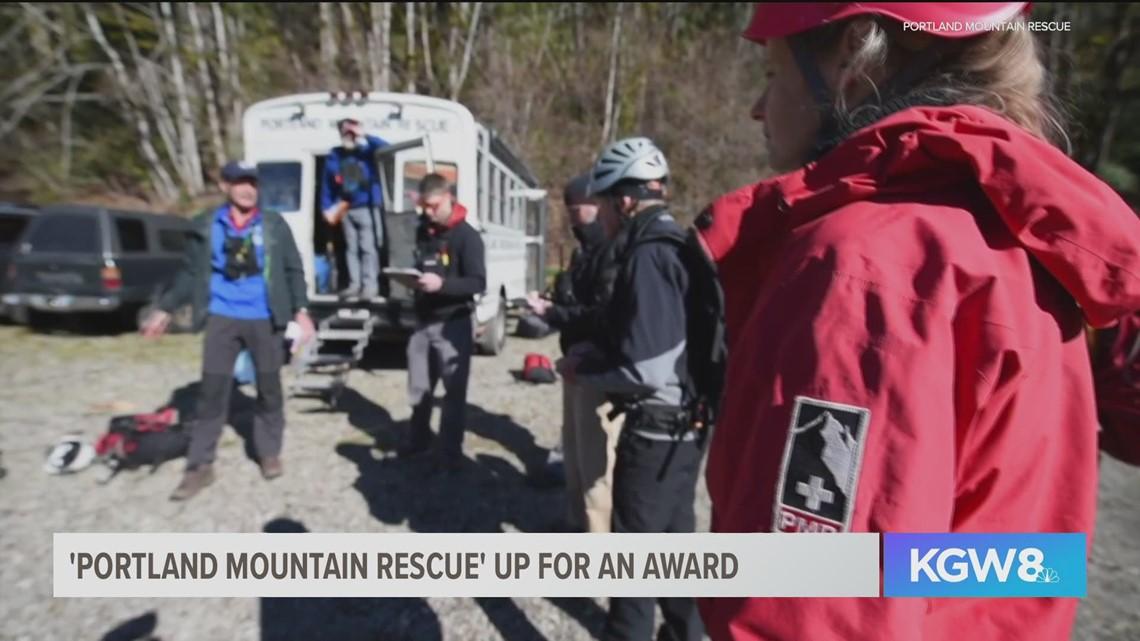 Portland Mountain Rescue chosen as a finalist for Land Rover award