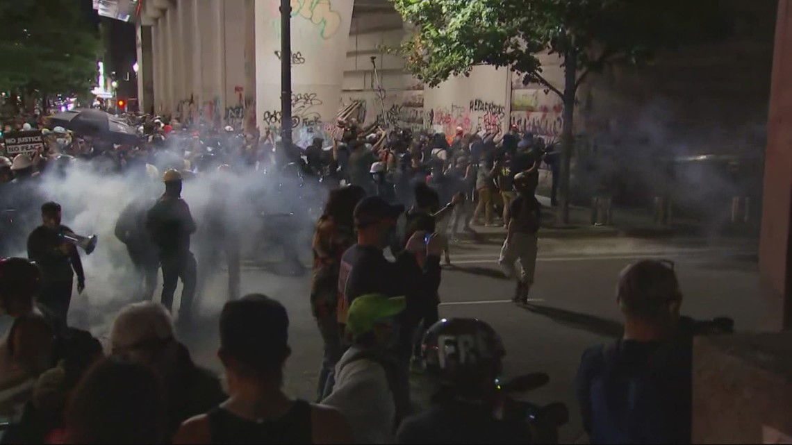Report finds that Federal agents sent to Portland protests in summer 2020 were not prepared