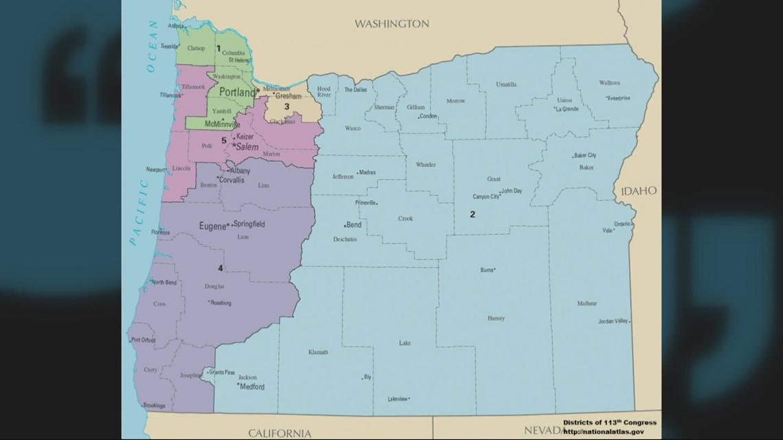 Oregon gets additional congressional seat