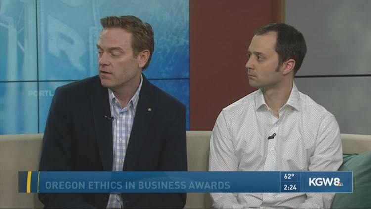 Oregon Ethics in Business Awards, 2018 honorees
