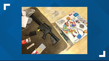 Couple finds semi-automatic rifle hidden in baby shower gift from Goodwill