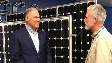 Washington Governor Jay Inslee Brings Presidential Campaign to Oregon